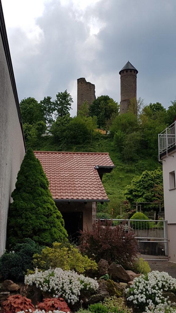 Kirkeler Burg - saarLANDlauf Etappe 4 Böckweiler - Kirkel