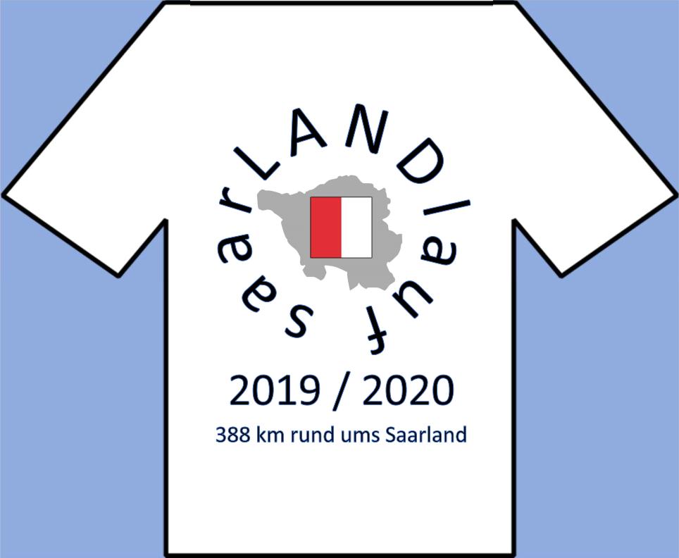 saarLANDlauf T-Shirt von hinten
