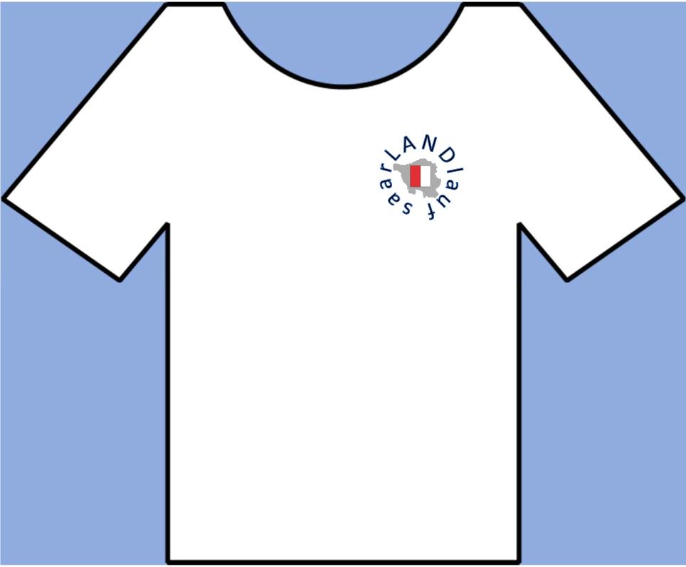 saarLANDlauf T-Shirt von vorne